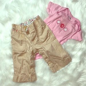 🌸 BABY GAP 🌸 3-6mo baby girl outfit Lot
